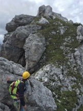 Via Normale Torre Pian dei Buoi (Spigolo S) - Cima