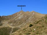 Via Normale Cima Hoabonti - Il versante sud della cima, vista al rientro, dalla Valle Ilba