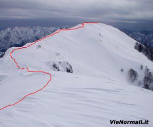 Via Normale Monte Lividino