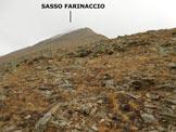 Via Normale Sasso Farinaccio - Lungo la cresta SW