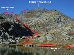 Via Normale Pizzo Trevesina (o Piz Trevisina)