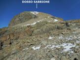 Via Normale Dosso Sabbione - L'elementare dorsale SE del Dosso Sabbione