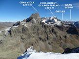Via Normale Dosso Sabbione - Panorama di vetta, verso NE
