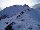 Via Normale Cima Verda - Cresta Nord - Tratto lungo la cresta nord
