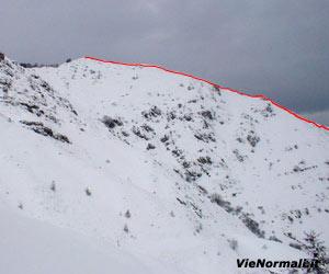 Via Normale Monte Bifo