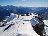 Via Normale I Dossoni - Ultimi metri per la cima
