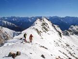 Via Normale Monte Seroti - Il Monte Seroti dal Passo di Val Andrina