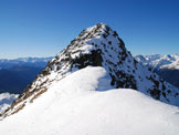 Via Normale Monte Varadega - Cresta NE - L´edificio sommitale del Varadega