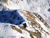 Via Normale Monte Varadega - Cresta NE - In cresta