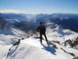 Via Normale Monte Varadega - Cresta NE - In cima