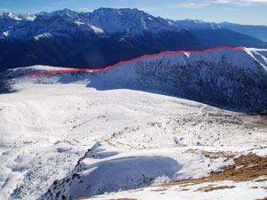 Via Normale Monte Pagano - Cresta NE