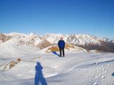 Via Normale Monte Pagano - Cresta NE - Sulla cima del Monte Pagano