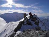 Via Normale Cima del Chiodo - Cresta Nord - In cima