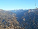 Via Normale Pizzo Grande - Dal Molinasco, vista sulla Val Brembana