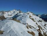 Via Normale Monte Storile - Via normale SSW - Gli ultimi 50 metri dell'elementare cresta SSW