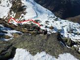 Via Normale Monte Storile - Via normale SSW - In discesa, ormai al termine della cresta SSW