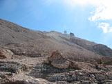 Via Normale Piz Boè dalla Val Lasties - Ultimo tratto di salita
