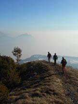 Via Normale Monte Colombina / Monte Valtero - In discesa dalla vetta