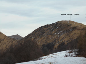 Via Normale Monte Todano / I Balmit