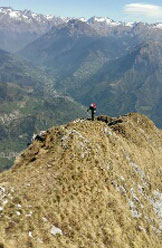 Via Normale Monte Secco Seriano - In cresta