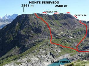 Via Normale Monte Senevedo