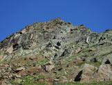 Via Normale Monte Senevedo - All'inizio della cresta SE