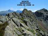 Via Normale Monte Senevedo - Lungo la cresta NW