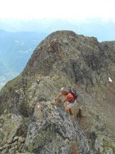 Via Normale Monte Masuccio (cresta SW) - In cresta