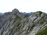 Via Normale Monte Pegherolo - Verso la cima