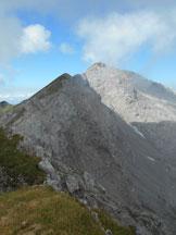 Via Normale Pizzo della Pieve (cresta E) - La lunga cresta che collega il Pizzo della Pieve con il Grignone