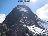 Via Normale Cima Rossa - Gli ultimo 100 metri, dalla spalla (q. 2990 m)