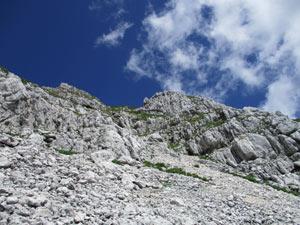 Via Normale Monte Cergnala (Hudi Vrsic)