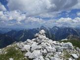 Via Normale Monte Cergnala (Hudi Vrsic) - Sulla cima