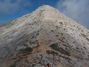 Via Normale Cima Carega - Sentiero delle creste