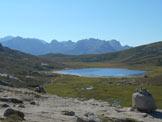 Via Normale Capu A U Tozzu - Lac de Nino e sullo sfondo il Gruppo del Monte Rotondo