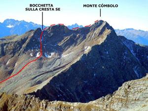 Via Normale Monte Combolo - Versante E