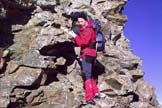 Via Normale Monte Orsiera - Il tratto di cresta rocciosa