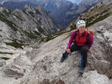 Via Normale Cima Spe - Verso Val di Santa Maria