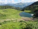 Via Normale Cima Moregna - Malga e laghetto di Moregna