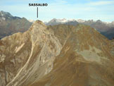 Via Normale Pizzo di Sassiglione - Versante N - Panorama di vetta sul Sassalbo