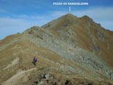 Via Normale Pizzo di Sassiglione  - Lungo la cresta SSE