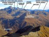 Via Normale Pizzo di Sassiglione  - Panorama di vetta, verso NE