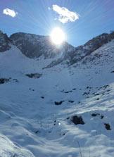 Via Normale Monte Sponda Vaga - Conca tra il Monte Barbarossa e il Monte Sponda Vaga