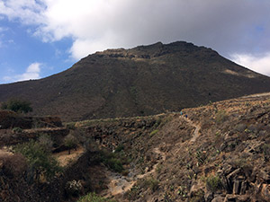 Via Normale Roque del Conde