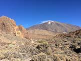 Via Normale Pico Viejo e Pico Sur - I primi passi dell'escursione