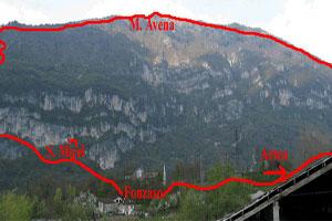Via Normale Monte Avena