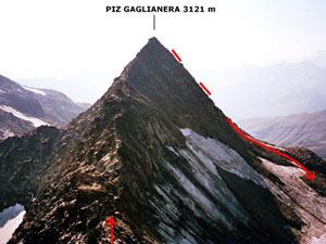 Via Normale Piz Valdraus - Piz Gaglianera (traversata)