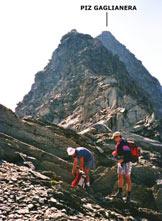 Via Normale Piz Valdraus - Piz Gaglianera (traversata) - Sulla bella cresta NW del Piz Gaglianera