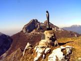 Via Normale Monte Moregallo - Vista verso il Triangolo Lariano