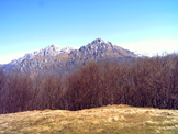 Via Normale Monte Moregallo - Le Grigne in primo piano